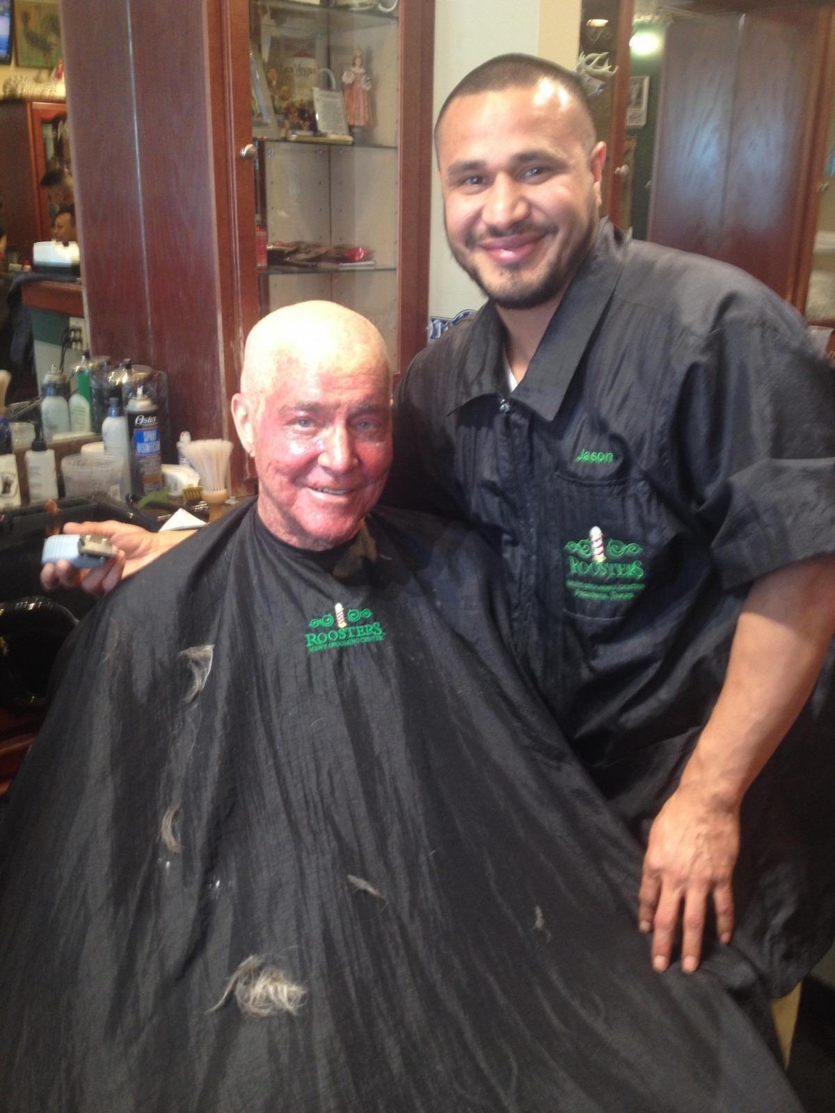 Fred-at-barbershop