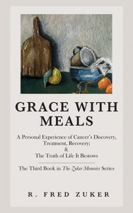 cover of Grace with Meals by R. Fred Zuker; cover art (c) 2020 by Sydney Sylvers