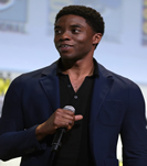Chadwick Boseman at ComicCon, a wikimedia.com image (c)Gage Skidmore, obtained from wikimedia.org